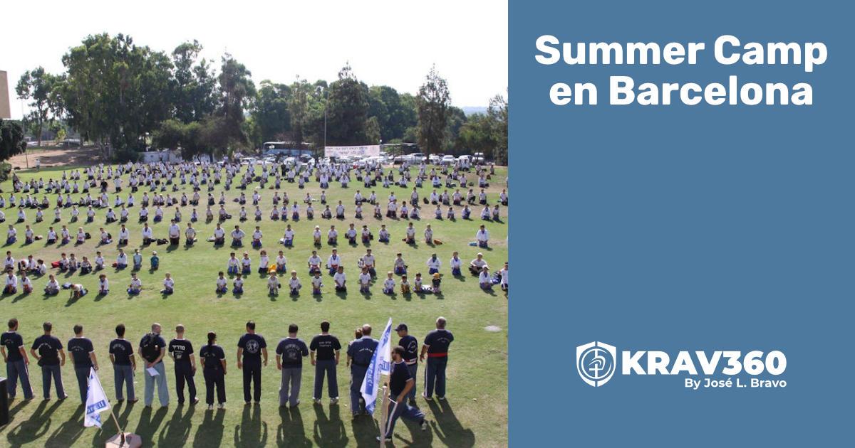 Summer Camp Krav Maga en Barcelona, 2015
