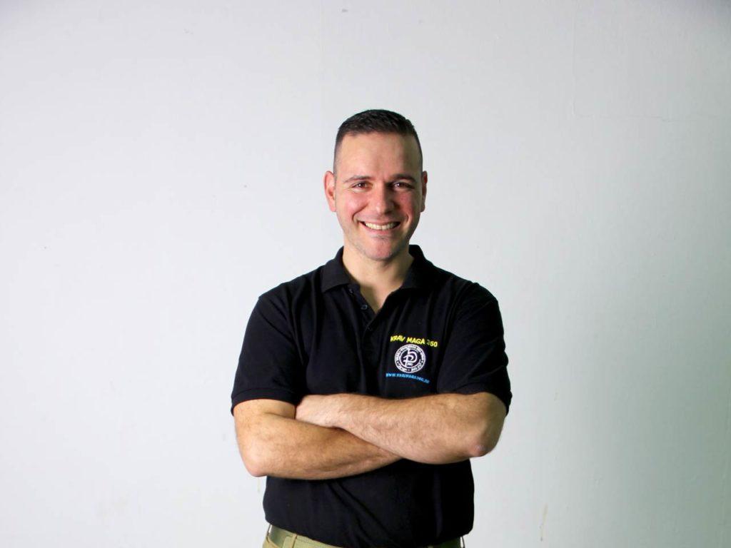 José-Luís Bravo, Director e instructor jefe de Israelí Krav Maga Spain