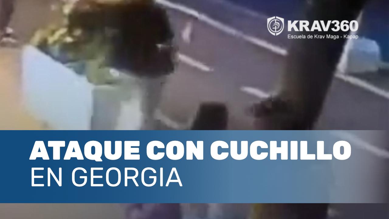 Ataque con cuchillo en Georgia
