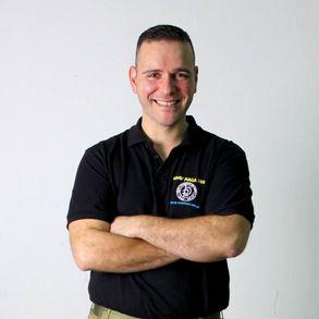 José Luís Bravo, instructor jefe de Krav360