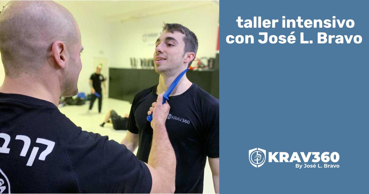 Taller intensivo con José Luis, de Krav360