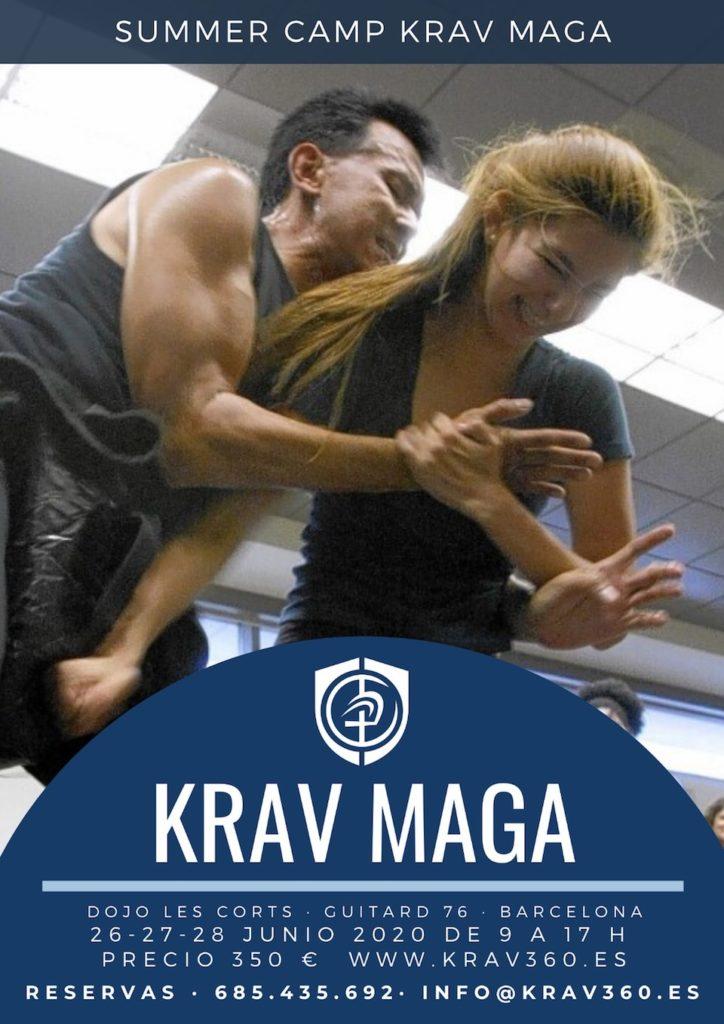 Llega el Summer Camp de Krav Maga 360