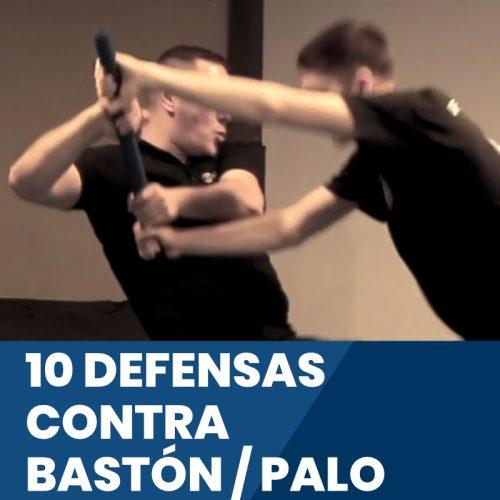 10 defensas contra bastón / palo