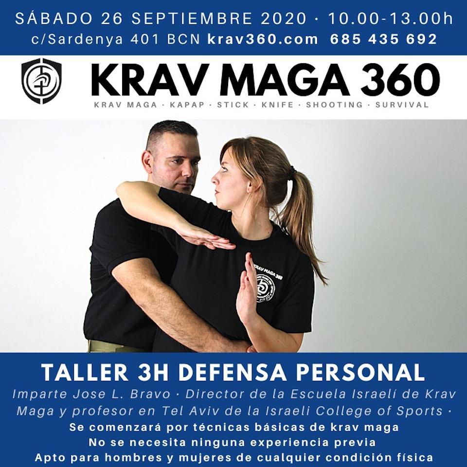 Empieza la temporada de los talleres intensivos de Krav Maga