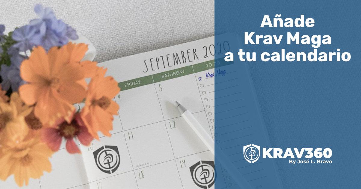Añade Krav Maga a tu calendario