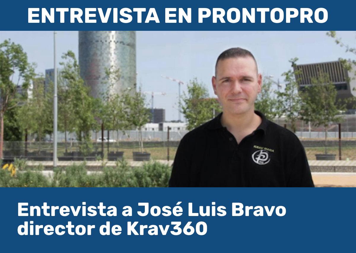 Entrevista a José Luis Bravo en Prontopro