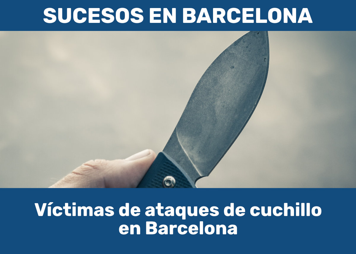 Ataques con cuchillo en Barcelona