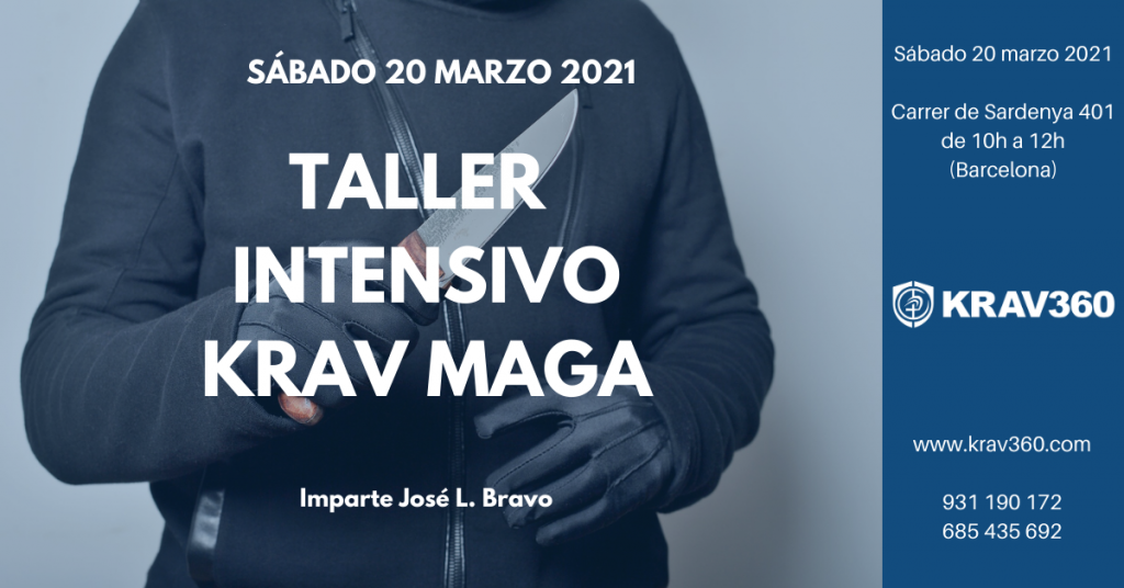 Taller intensivo de Krav Maga marzo 2021