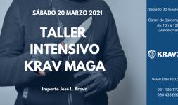 Taller intensivo Krav Maga para marzo 2021