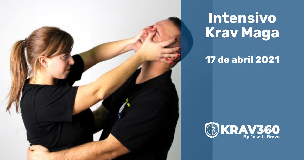 Intensivo de Krav Maga. 17 de abril de 2021