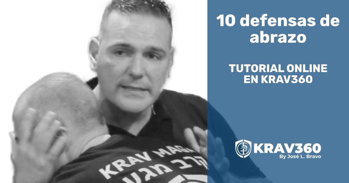 10 defensas contra abrazo. Tutorial de Krav Maga