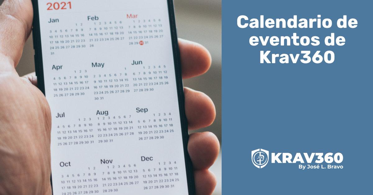 Calendario de eventos 2021/22